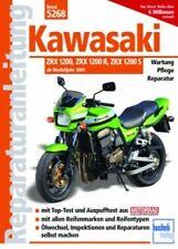 WERKSTATTHANDBUCH REPARATURANLEITUNG WARTUNG 5268 KAWASAKI ZRX 1200 + R + S