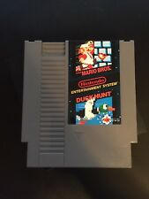 Super Mario Bros. & Duck Hunt (Nintendo NES) Cleaned & Tested - Free Shipping!!!