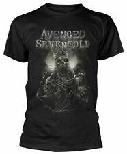 Official Avenged Sevenfold T Shirt King DB Black Mens Unisex Metal Rock A7X New
