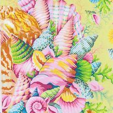 Fat Quarter Kaffe Fassett 2017: Shell Bouquet Yellow Cotton Quilting Fabrics