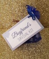 *BOYFRIEND'S SURVIVAL KIT* Birthday Christmas Valentine's, Anniversary Gift