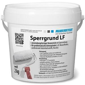 Ruberstein® Sperrgrund LF weiß 2 kg