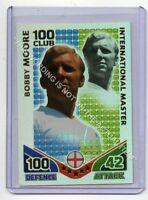 (Gb1961) Match Attax, World Cup 2010, 100 Club, Bobby Moore, England