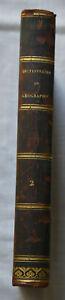1803 Dictionnaire universel de géographie maritime T2 Dedié a Napoleon E.O