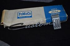 1964 Ford Custom 500 Fender Emblem NOS Ford Box
