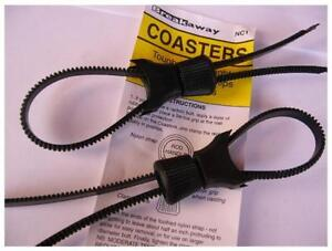 BREAKAWAY NYLON COASTERS -  Universal Reel Mounting Device.