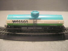 Tyco Wesson oil single dome tank car