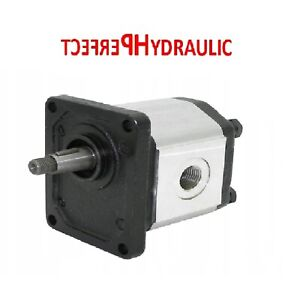 Hydraulic pump Gear Pump group 2 from 4 to 26 ccm shaft 1: 8 right thread BSPP