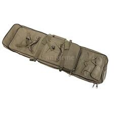 "100cm / 39.4"" Outdoor Hunting Tactical Shotgun Rifle Square Carry Bag B9G2"