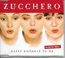 ZUCCHERO - Happy birthday to me CD SINGLE 3TR Germany 1998 RARE!