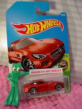 '15 MERCEDES-AMG GT #338✰burnt red;y5✰HW EXOTICS✰2017 i Hot Wheels case P/Q