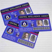 HOMELAND TV Show ID Badge, Movie Prop, Carrie Mathison, Saul Berenson