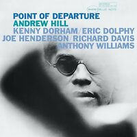 ANDREW HILL - POINT OF DEPARTURE (REM.+DL-CODE)  VINYL LP NEU