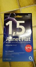 O2 Prepaid Karte Allnet Flat mit 1,5 GB LTE Max  0176 - 73 92 32 99