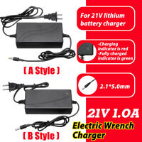 21V/12.6V/16.8V/17V 1A/1.3A/1.5A Electric Wrench Lithium Battery Charger   P