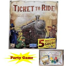Ticket to Ride Train Adventure Board Game Party Home Game Gift Free Shipping
