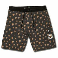 "VOLCOM Mens Ozzie Trunk 17"" Swim Shorts | Black"