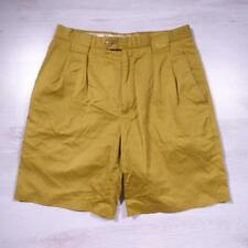 "Mens FILA Vintage Long Cotton Mark Calcavecchia Golf Shorts 32"" Medium B2584"