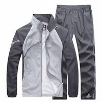 Men's Sportwear Suit Tracksuit Men Casual Suit Athletic Outwear 2PC Jacket Sets