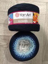 Yarn Art Flowers 2 X 250g Knitting Crochet Cake Yarn Super Fine Weight