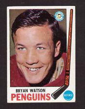 Bryan Watson Pittsburgh Penguins 1969-70 Topps Hockey Card #112 EX/MT- NM