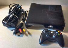 Microsoft Xbox 360 S 4GB Black Console + Wireless controller