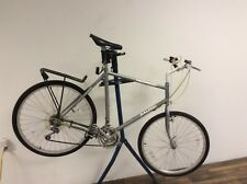 Raleigh Technium Vintage Urban Hybrid Bike 57cm - Silver, Bike Rack