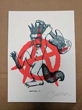 Jermaine Rogers Art Print Handbill Primus Max Where the Wild Things Are Sendak
