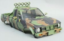 RC 1/10 Truck HARD Body Shell TOYOTA PICKUP TRUCK Scale Body Shell CAMO