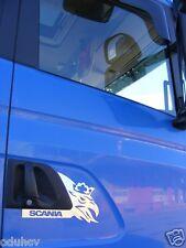 2 Stück Edelstahl poliert Türverkleidung Dekorationen für SCANIA P / g / R Serie
