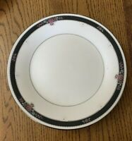 Noritake Etienne Ivory China 2 Salad Plates Japan 7260 Beautiful Condition