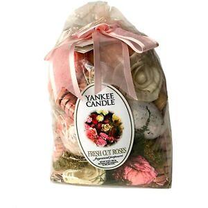 Yankee Candle Fresh Cut Roses Fragranced Potpourri 10 Oz Bag Discontinued