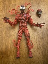 hasbro marvel legends maxium carnage figure spiderman