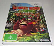 Donkey Kong Country Returns Nintendo Wii PAL *Complete* Wii U Compatible