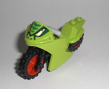 LEGO City - Renn Motorrad in LIME - Motorbike Motorcycle Racing Lasha Bike 10722