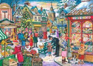 Window Shopping House of Puzzles HOP MC358 500 Pcs Christmas Jigsaw Puzzle