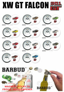 FORD XW GT FALCON - Magnetic Bottle Opener - BARBUD