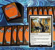 mtg WHITE CATS DECK Magic the Gathering rare cards regal caracl jareth jazal