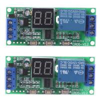 Multifunction Digital Time Infinite Delay Switch Timer Relay ModulDC5V 12V 24 si