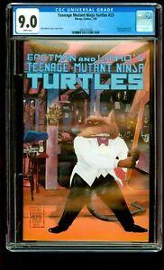 TEENAGE MUTANT NINJA TURTLES #23 CGC 9.0 VF/NM TMNT, Mirage Studios
