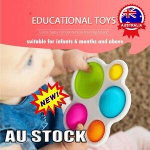 Baby Simple Dimple Sensory Toy Fat Brain Toy Skills Intelligence Development Toy