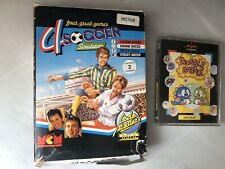 Lote 2 Juegos Sinclair Spectrum Bubble Bobble 4 Soccer Simulators