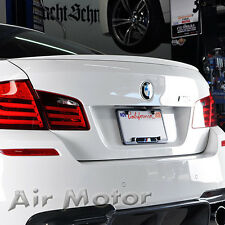 BMW F10 4D Sedan M5 Style Boot Trunk Spoiler Wing  For Painted Color 535I 535D