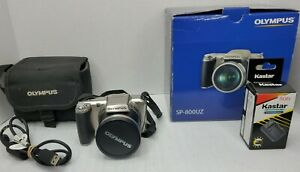 Olympus SP-800uz 14mp Digital Camera 30x zoom SP800uz -  Titanium