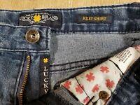 #059amd Lucky Brand Riley Short Stretch 12