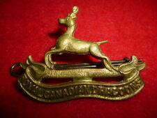 Royal Canadian Dragoons Cap Badge - Canada WW2