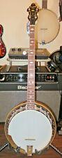 Recording King Rk-M5 5 String Usa Professional Bluegrass Banjo Maple w/Case Mint