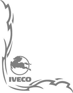 Iveco Truck Tribal style cab side window stickers (pair)