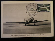 FRANCE PREMIER JOUR FDC YVERT 1196    AVION DC 3       20+5F    PARIS     1959