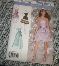 Simplicity Pattern 1655 Jessica McClintock Party Dresses Sz  14-22/New